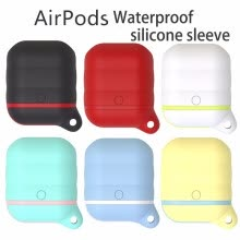 iphone-accessories-airpods case waterproof silicone sleeve Filoto for Apple Airpod Soft Silicone Headphone Case on JD