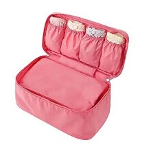 -Portable Lingerie Storage Box Sexy Lady'S Colorful Bra Bag Underwear Organizer Travel Bag For Women Cosmetic Bag on JD