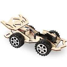 -Wood Racing Car DIY Kit Kids Toy DIY Kit Electric Wooden Racing Car for Children Science and Technology Inventions Assembled Exper on JD