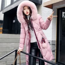 New autumn and winter cotton clothing women long sleeves coat ladies cotton  clothing women down jacket 9579c8bed