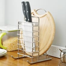 -【Jingdong Supermarket】 Ou Runzhe knife turret 304 stainless steel patent sled kitchen shelves on JD