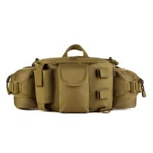 875062576-Men's Tactics Military Waist Pack Bag High Quality Nylon Hip Belt Pocket Military Messenger Bag Hunt Waist Bag on JD