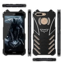 -Transformers Huawei Honor 8 Pro Metal Protective Case Batman Shockproof Cover on JD