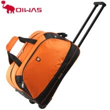 875062575-OIWAS Trolley Travel Bags 56L Waterproof Foldable Rolling Luggage Zipper Rubber Wheel OCL8001 on JD