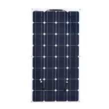 digital-accessories-Waterproof  Portable Solar Panel semi flexible 100W solar system Photovoltaic for LED light12v  battery/yacht/RV/car/boat on JD