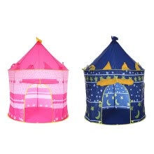 hammocks-tents-sleeping-bags-Play Tent Portable Foldable Princesse Castle Folding Tent Kids Boy Girl Gift on JD