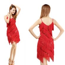 High quality sexy tassel latin dance dress fringe latin dance costumes for  women on sale 8c712dddf453