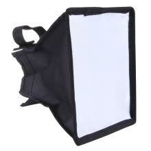camera-lens-accessories-Portable Flash Folding Soft Box, Without Flash Light Holder, Size: 15 x 17 cm(Black + White) on JD