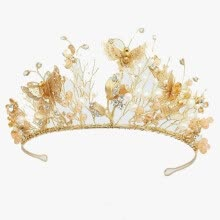 875062531-Hot Sale Wedding Dress Accessories Bridal Tiara And Crown Freshwater Pearls Headdress on JD