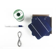 electrical-appliances-BOGUANG DIY Solar Panel kits with 125*125mm monocrystalline solar cell use flux pen+Tin wire+Copper belt  for 100W Solar Panel on JD