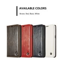 -Samsung Galaxy S4/S5/S6/S7 Luxury Leather Vintage Multi-function Wallet Card Clip Protection Cover Stand Phone case on JD