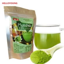 green-tea-C-TS042 Sale! 80g Natural Organic Matcha Green Tea Powder slimming tea weight loss free shipping on JD