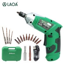 -LAOA LA416336 Cordless Electric Drill with 11 bits USB charging on JD