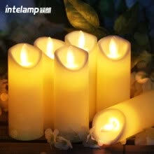 outdoor-lighting-Yinglang Intelamp electronic candle Chinese Valentine's Day gift confession candle home creative props simulation LED candle light on JD