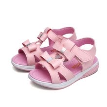 268381067979 Girls Sandals Children Beach Slippers Shoes Summer Style Kids  Slip-Resistant Sandals Girls Princess Roman Shoes Student sandals