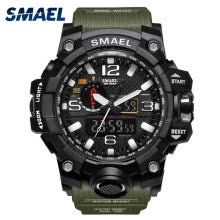 -Military Watch Digital SMAEL Brand Watch S Shock Men's Wristwatch Sport LED Watch Dive  50m Wateproof Fitness Sport Watches on JD