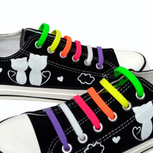 Shoes Shoe Accessories Jup 1 Set Fashion Adult Novelty No Necktie Shoelaces Elastic Silicone Leather Laces Mens Women All Sneakers Fit Belt Cheap Price