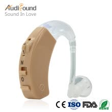 hearing-aids-Audisound High Quality Hearing Aid Sound Amplifier Hearing Aids High-Low Tone For the Elderly with 2x A13 Battery on JD