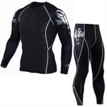 8750510-https://www.aliexpress.com/item/Men-s-Compression-Run-jogging-Suits-Clothes-Sports-Set-Long-t-shirt-And-Pants-Gym-Fitness/32814943 on JD
