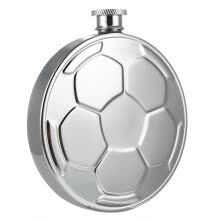 8750201-Creative Football Stainless Steel Hip Flask Wine Pot Barware on JD