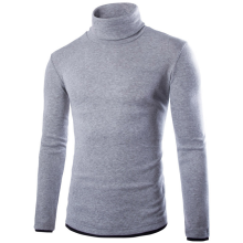 pullovers-Zogaa Men's Knitwear False Two Slim Undershirt on JD