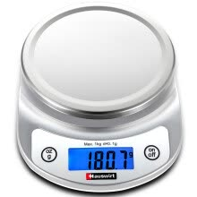 -Hauswirt Kitchen  Electronic Scale with Stainless Steel Tray HE-56 on JD