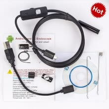 875072536-1M/2M/5M 5.5mm Endoscope Camera USB Android Endoscope Waterproof 6 LED Borescope Inspection Camera For Android PC on JD