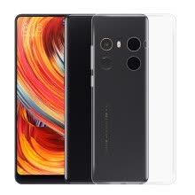 mobile-decorations-Ultra-Thin Tpu Back Cover Case for Xiaomi Mi Mix 2 - Transparent on JD