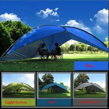 hammocks-tents-sleeping-bags-Ultralarge 4-6 Person Use Waterproof Windproof Anti-UV Sun Shelter Camping Tent Large Gazebo on JD