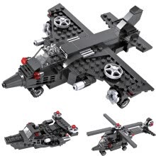 -COGO military building blocks, educational toys on JD