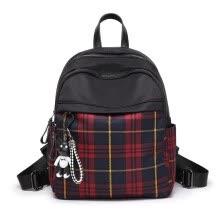 99f41f4ae27 CAROLING ANGEL Vintage Women Plaid Backpack Nylon School Backpacks for Teenage  Girls Casual Large Capacity Shoulder Bags