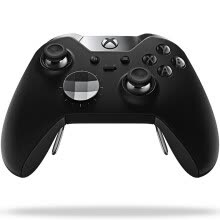 game-controllers-steering-wheels-Microsoft Xbox One Wireless Controller (absolute domain: black) on JD