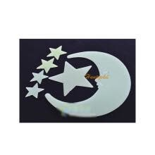 -12/pack Luminous Stars Moon Decorative Stereoscopic Wall Sticker Decals Paster on JD