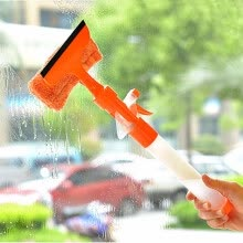 -Cntomlv Magic Spray Type Cleaning Brush Multifunctional Convenient Glass Cleaner A Good Helper That Washing The Windows Of Car on JD