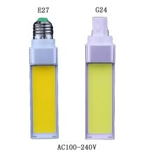 8750210-LED Bulb 12W E27 G24 AC100-240V 2Pin COB Daylight White Cool White Warm White Bulbs on JD