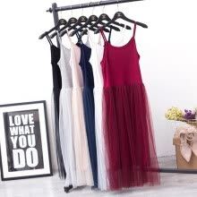 plus-size-dresses-Sexy Off Shoulder Summer Women Dress Female Loose Spaghetti Strap Mesh Ladies Party Dresses New Clothing on JD
