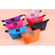 belts-cummerbunds-simple dumpling cosmetic bag elegant folding bag waterproof bag washing cosmetics package on JD