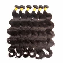-Sivolla Free Shipping Raw Virgin Human Hair Bundles Brazilian Body Wave Full Cuticle Natural Black Hair 3/4PCS a Lot Origianl Hair on JD
