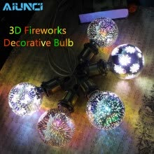 -3D Led Bulb E27 Fireworks Decorative Bulb 220V Party Lamp A60 ST64 G80 G95 Vintage Edison Night Light For Christmas Decoration on JD