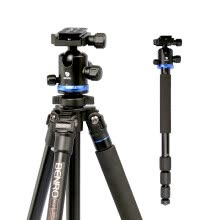 -Benro tripod AF28 + SLR tripod aluminum alloy Canon Nikon SLR camera tripod tripod professional photography tripod head set on JD