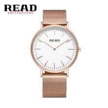 dd7bea505be3 Reloj de pulsera READ R2018 reloj de pulsera de cuarzo de importación  simple de dos pines Reloj ultradelgado para hombre Reloj y reloj de pulsera  resistente ...