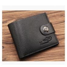 07089f5ea 2018 nuevos hombres billetera PU corto embrague carteras para hombres  Bifold billetera de cuero hombres monedero delgado moda casual hombre  billeteras de ...