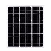 -BOGUANG 40w solar panel PV module mono cell 12v system battery light on JD