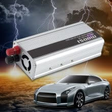-1500W Car DC 12V to AC 220V Power Inverter Charger Converter for Electronic on JD