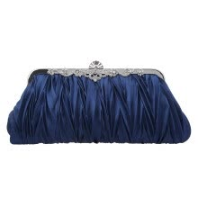 -Fawziya  Satin Pleated Clutch Purses For Women Evening Clutches For Wedding And Party on JD