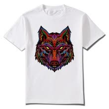 -Summer Man T-shirts Wildlife Wolves Minnesota Viking O Neck Men Tees Hip Hop Art Printed Clothes DIY Customization on JD