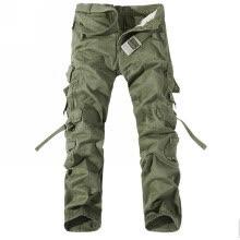 3defa8d21d2eb5d мужская хлопок случайные армии комбинезон Loose больших размеров брюки  горячие штаны трава зеленая 30.