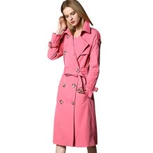 875061834-BURDULLY 2018 Winter Casual Europe British Style Long Trench Coats For Women Double Breasted Outwear Coat Windbreaker Classic on JD