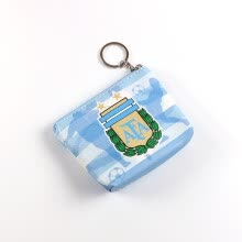 -Change Purse Russia World Cup 2018 Brazil Argentina Spain Flag Pattern PU Leather Small Wallet Bag Pouch 12 x 9 cm on JD