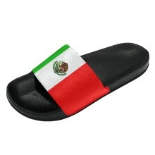108d19c4cf02 Fashion Casual 2018 World Cup Slippers Mexican Men and Women Sports Slippers  Custom Shoes